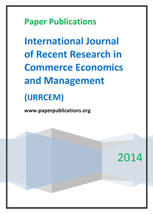 International Journal of Recent Research in Commerce Economics and Management
