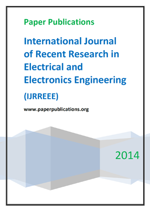 International Journal of Recent Research in Electrical and Electronics Engineering