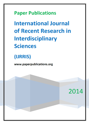 International Journal of Recent Research in Interdisciplinary Sciences