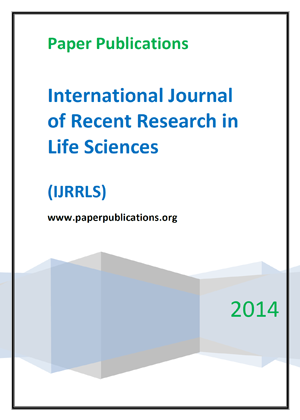 International Journal of Recent Research in Life Sciences