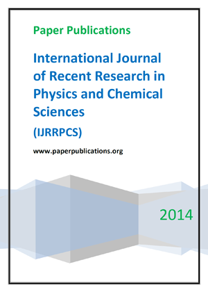 International Journal of Recent Research In Physics and Chemical Sciences