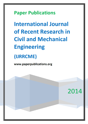 International Journal of Recent Research in Civil and Mechanical Engineering
